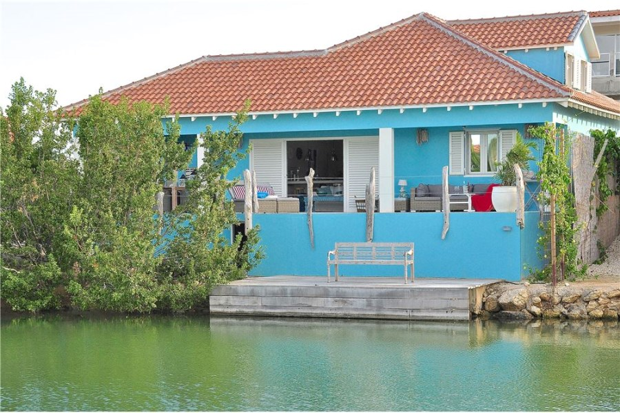 RE/MAX real estate, Bonaire, Kralendijk, Villa with Private Boat Dock