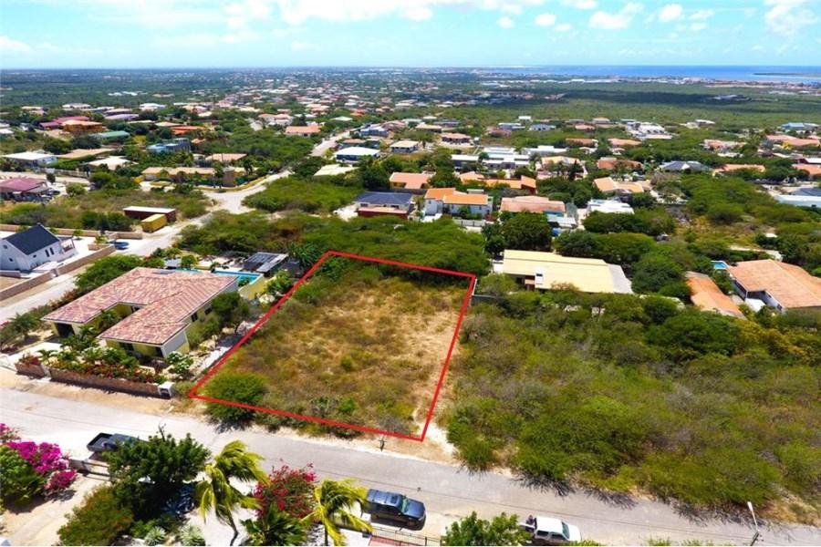 RE/MAX real estate, Bonaire, Santa Barbara, Large Building Lot with Great Ocean Views