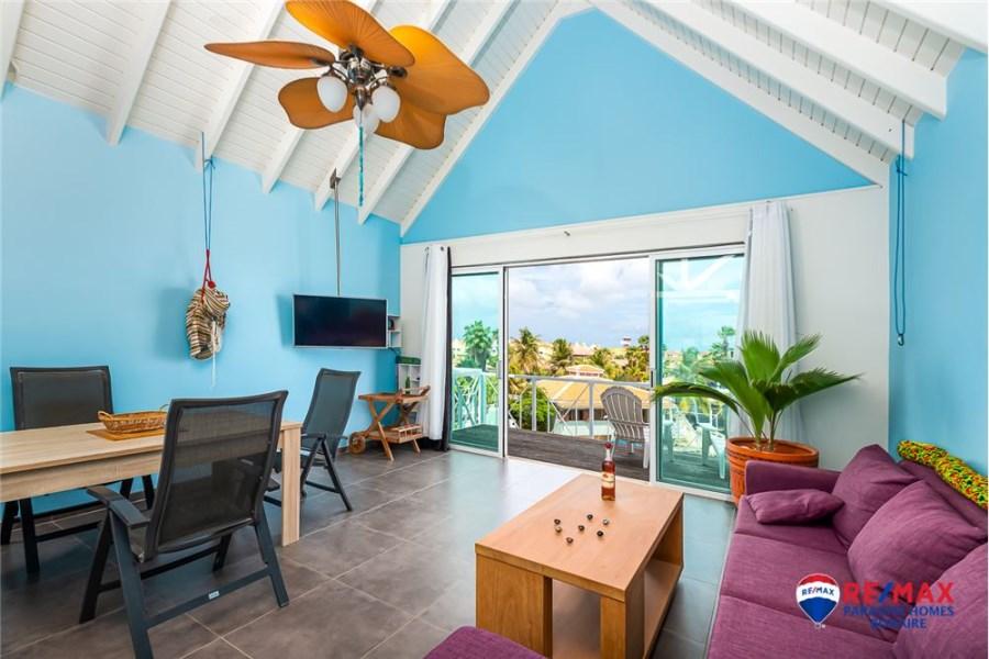 RE/MAX real estate, Bonaire, Kralendijk, Waterfront Penthouse with Unobstructed Views