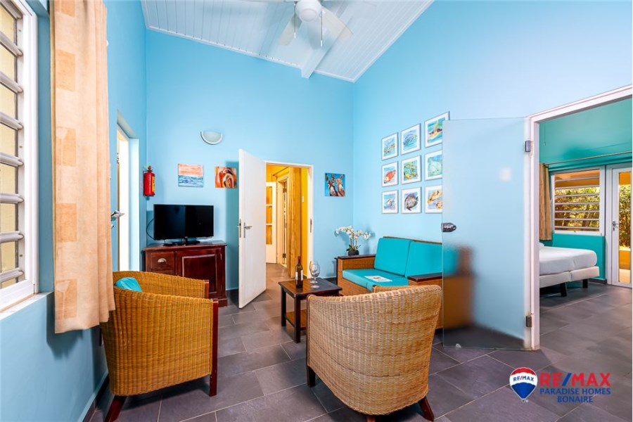 RE/MAX real estate, Bonaire, Santa Barbara, Lowest priced two bedroom, 2 bath condo on Bonaire