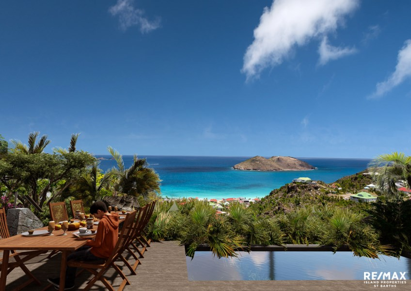 RE/MAX real estate, Saint Barthelemy, Colombier, CLB 1