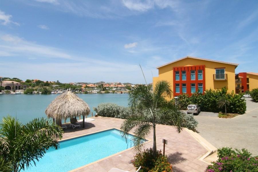 RE/MAX real estate, Curacao, Jan Thiel, Jan Thiel - Apartment #29- La Palapa Beach Resort, with Harbor view