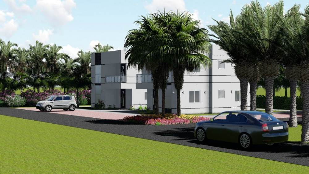 RE/MAX real estate, Curacao, Santa Maria, St Maria - Modern, newly built 2-bedroom houses on gated resort