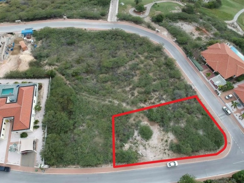 RE/MAX real estate, Curacao, Blue Bay Golf & Beach Resort, Blue Bay BB-53 - Large lot with dazzling view
