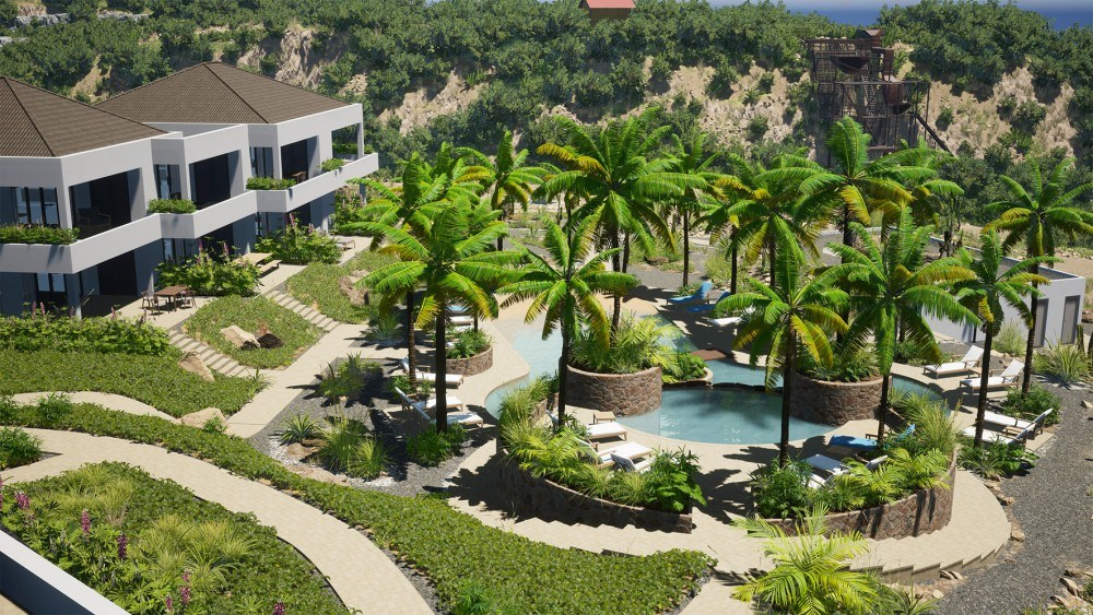 RE/MAX real estate, Curacao, Blue Bay, THE REEF - Luxurious new apartments on the ground floor with seaview.