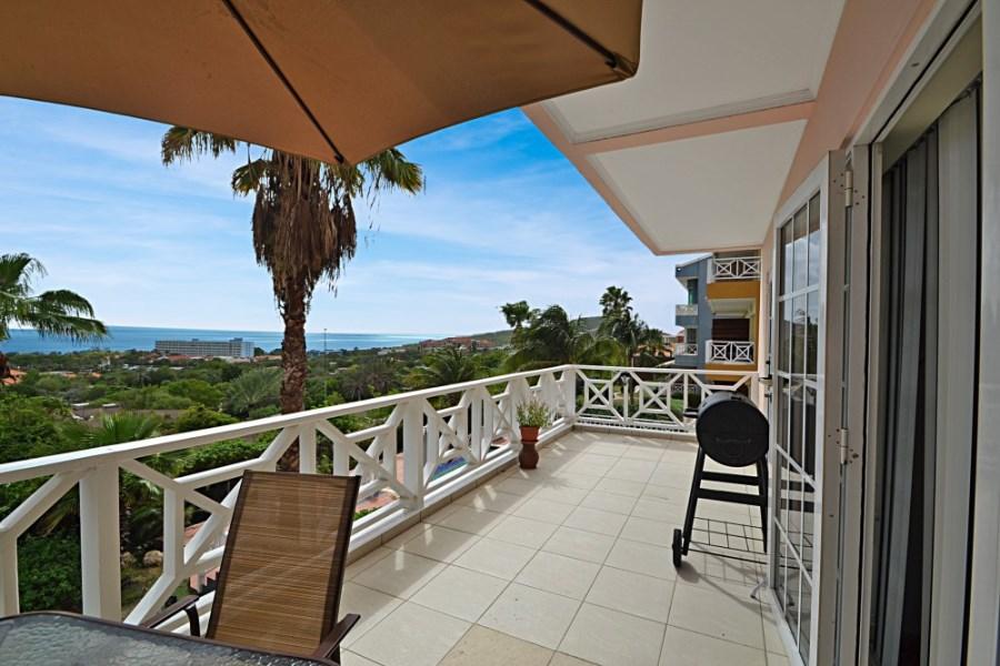 RE/MAX real estate, Curacao, Piscadera, La Vista resort - Furnished apartment with sea view