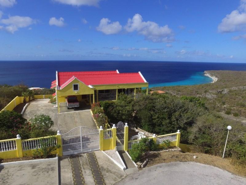 RE/MAX real estate, Curacao, Cas Abou resort, Cas Abou - Villa met exceptioneel uitzicht over de Caribische zee