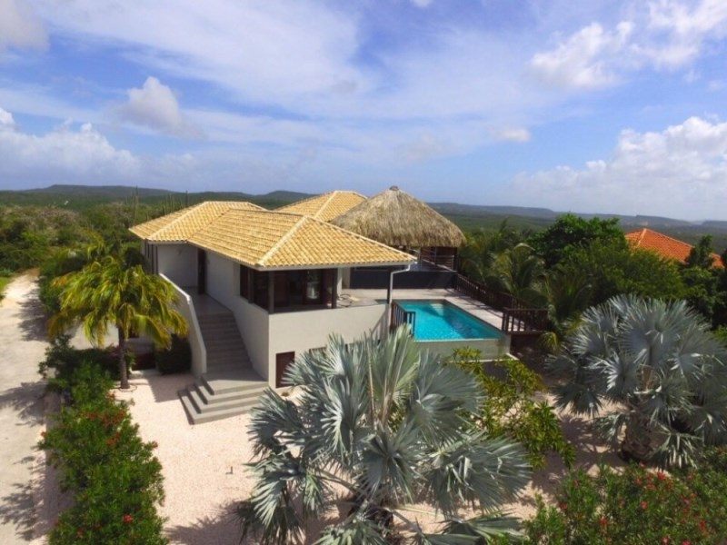 RE/MAX real estate, Curacao, Cas Abou resort, Cas Abou 79 - Modern Style villa with amazing view and private pool