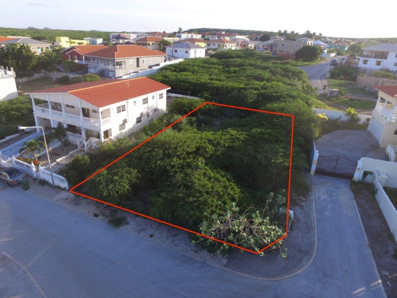 RE/MAX real estate, Curacao, Grote Berg, Grote Berg - Corner lot Q42 for sale with partial Seaview
