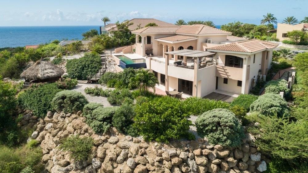 RE/MAX real estate, Curacao, Blue Bay, Architectural Luxurious Design Villa at Blue Bay Golf & Beach Resort