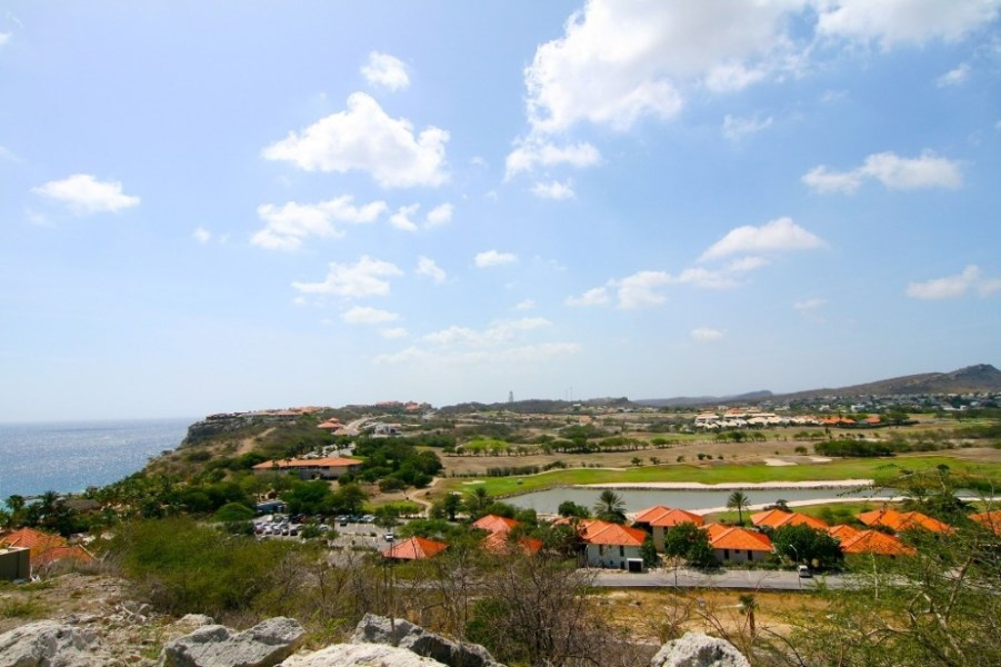 RE/MAX real estate, Curacao, Blue Bay Golf & Beach Resort, Blue Bay, plot BT41-42, double lot with amazing seaview and golfcourse