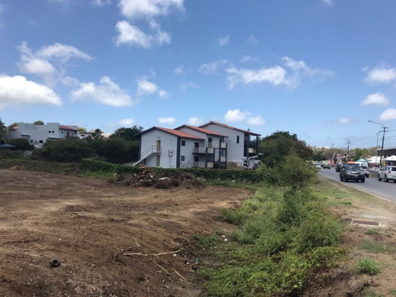 RE/MAX real estate, Curacao, Jan Thiel, Development land for sale on main road - ideal for apartment complex