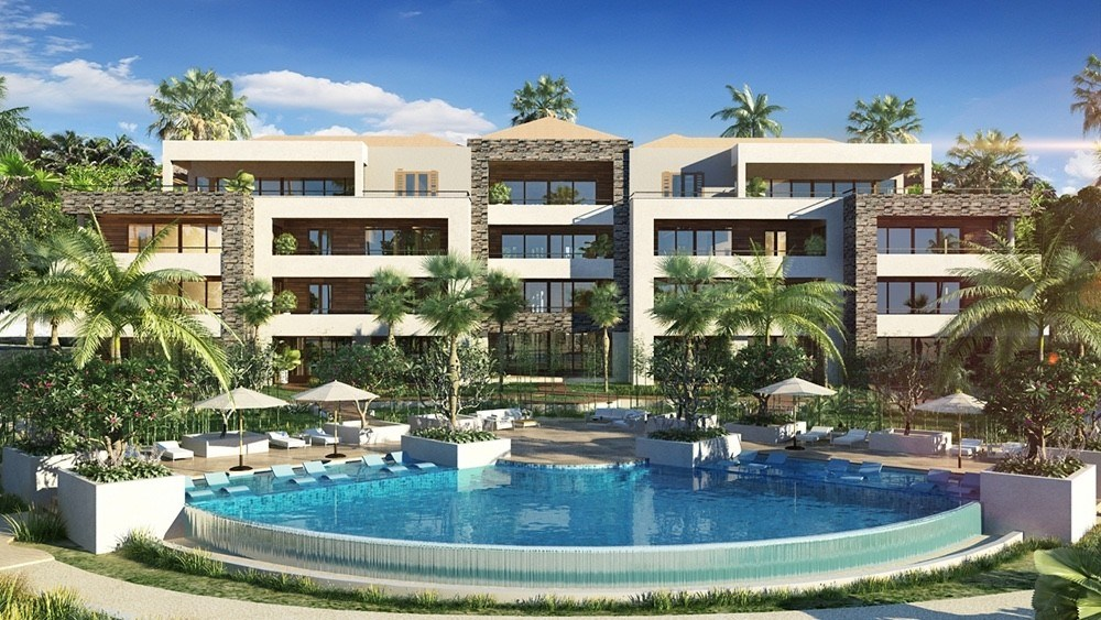 RE/MAX real estate, Curacao, Blue Bay Golf & Beach Resort, Great new 3-bedroom apartments on private beach in Curacao for sale