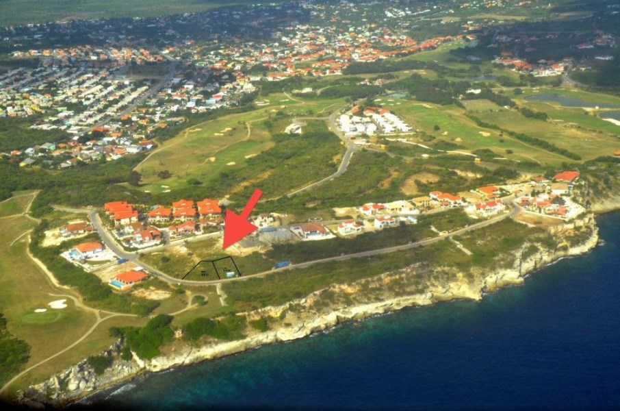 RE/MAX real estate, Curacao, Blue Bay Golf & Beach Resort, Blue Bay Heights Curacao - large lot for sale - great sea view!