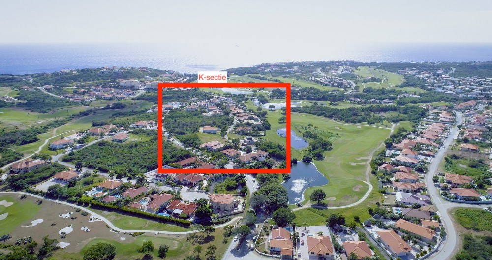 RE/MAX real estate, Curacao, Blue Bay Golf & Beach Resort, Blue Bay Resort BK-17: large lot on main street