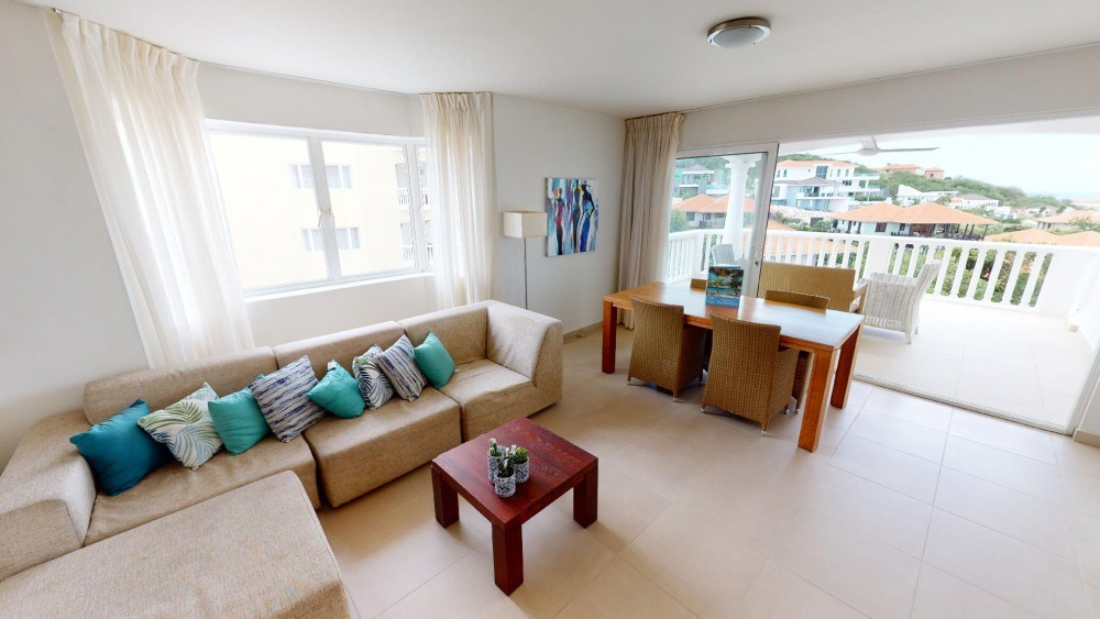 RE/MAX real estate, Curacao, Blue Bay, Triple Tree Resort 31 - furnished condo on 4th floor with ocean views