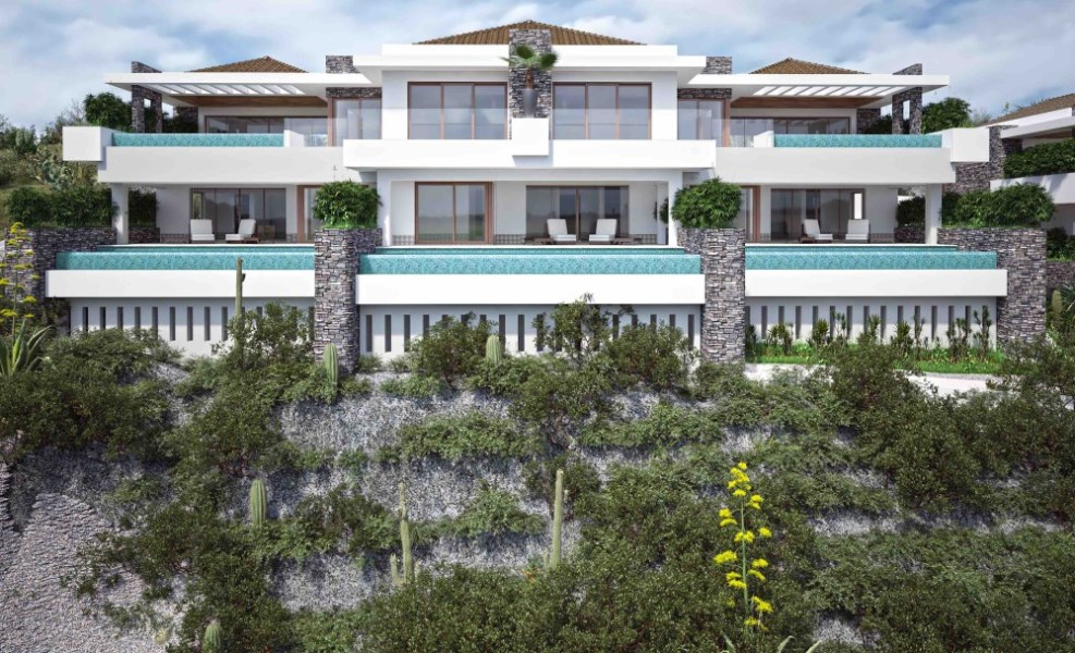 RE/MAX real estate, Curacao, Blue Bay, The Ridge - Penthouse with 3 bedrooms and private pool on golf resort