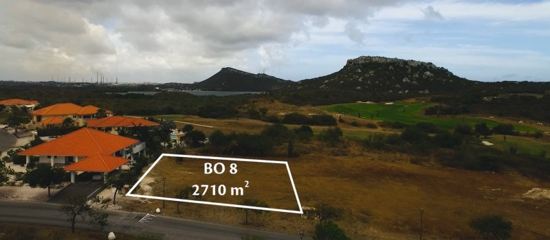 RE/MAX real estate, Curacao, Blue Bay Golf & Beach Resort, BB BO-8 - large lot on main road with back yard adjacent golf course