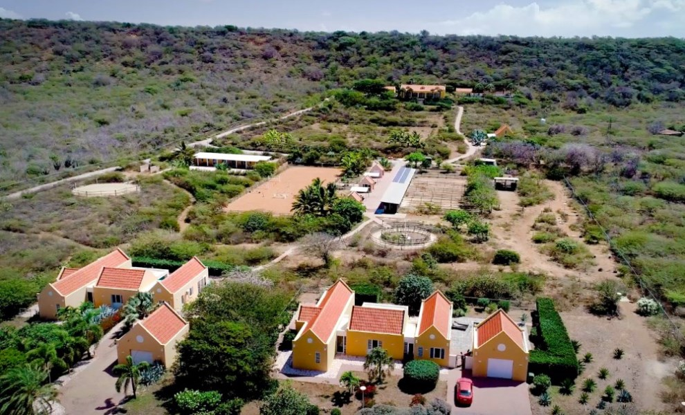 RE/MAX real estate, Curacao, Banda Abou, Private resort - large mansion and 6 houses -horse ranch for 12 horses