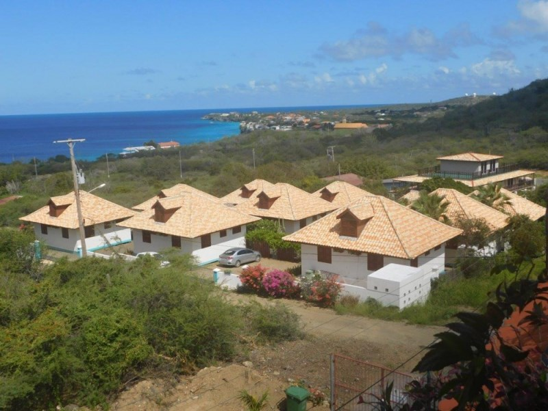 RE/MAX real estate, Curacao, Westpunt, For Sale: Beautiful complex with pool & seaview in Westpunt