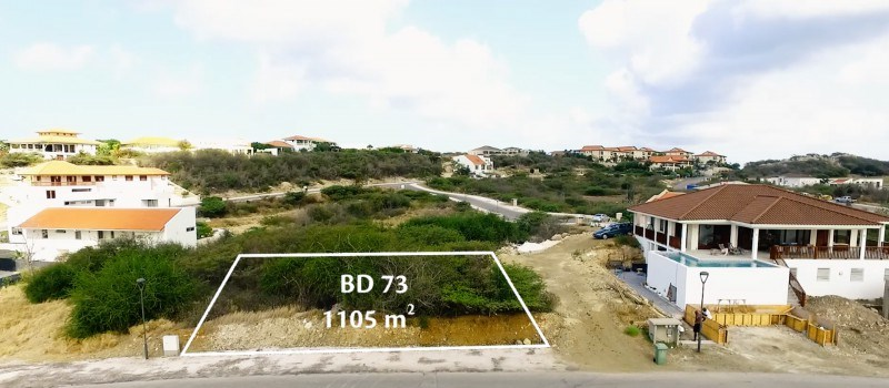 RE/MAX real estate, Curacao, Blue Bay Golf & Beach Resort, BD-73 - Well located spacious lot for sale on secured resort