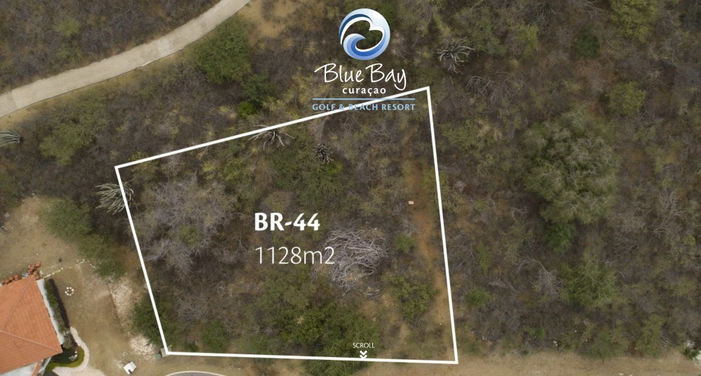 RE/MAX real estate, Curacao, Blue Bay Golf & Beach Resort, Blue Bay BR-44 - Centrally located, spacious lot with inspiring views