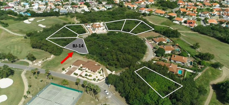 RE/MAX real estate, Curacao, Blue Bay, Blue Bay BJ-14 - Lot for sale at hole 3 to build your dreamhouse
