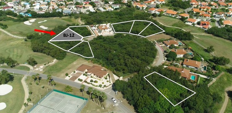 RE/MAX real estate, Curacao, Blue Bay, Blue Bay BJ-12 - Large lot for sale with views over hole 3 and 8