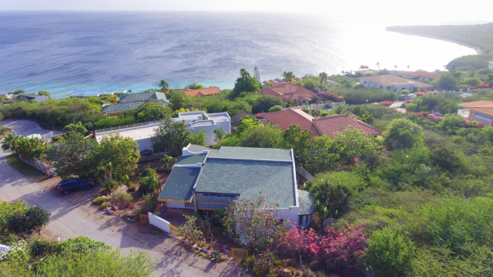 RE/MAX real estate, Curacao, Cas Abou resort, Ocean view villa with downstairs apartment in beautiful Cas Abou