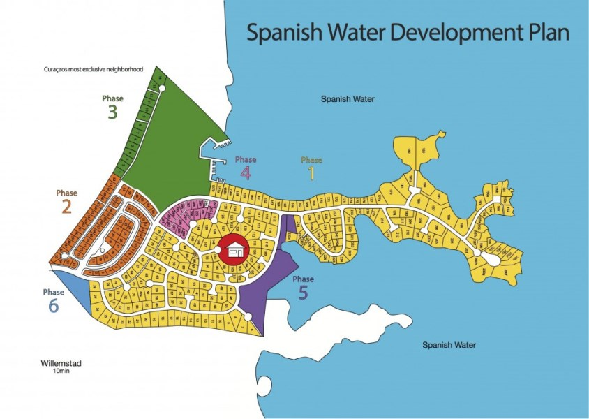 RE/MAX real estate, Curacao, Jan Sofat, Jan Sofat – PHASE 3 Lot 8 - Amazing view overlooking Spanish waters