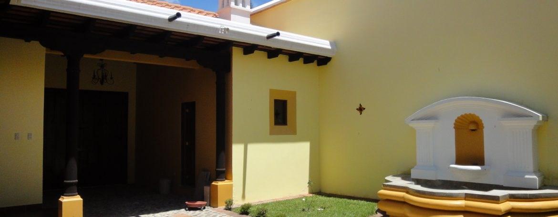 Remax real estate, Guatemala, La Antigua Guatemala, 3052 AMPLE HOUSE FOR RENT IN ANTIGUA GUATEMALA