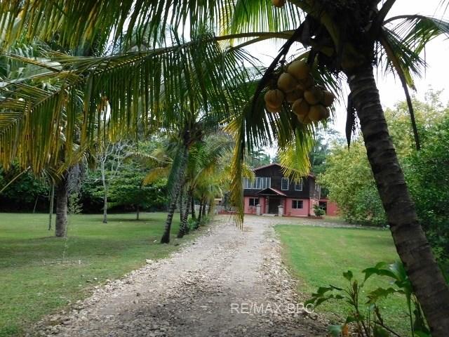 RE/MAX real estate, Belize, Belmopan, A 4 BEDROOM HOUSE + RENTAL UNITS ON 13 ACRES OF LAND NEAR BELMOPAN, CAYO, BELIZE.