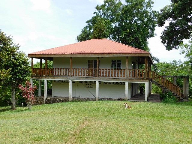 RE/MAX real estate, Belize, Unitedville, 21 ACRES WITH HOUSE LOCATED BETWEEN SAN IGNACIO AND BELMOPAN.