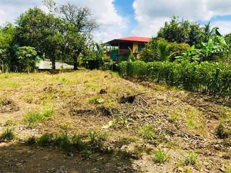 Remax real estate, Costa Rica, Guápiles, Lot in tranquila area in closed street 500m from Pali in La Rita