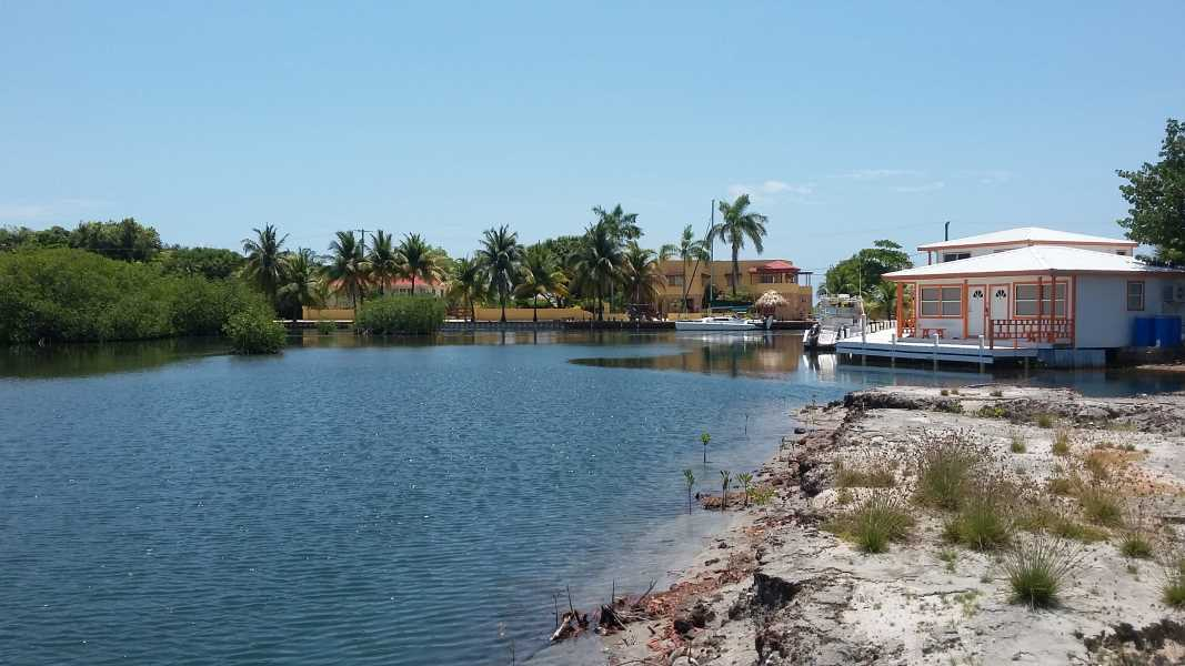 Remax real estate, Belize, Placencia, Waterfront Lot at Sunset Pointe, Placencia