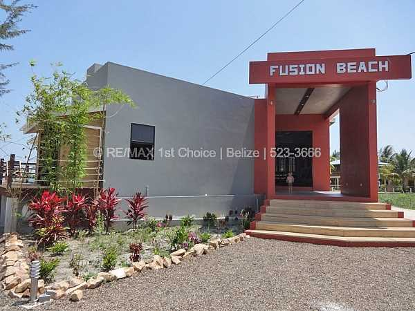 Remax real estate, Belize, Placencia, Fusion Beach Club Restaurant    ---  UNDER CONTRACT