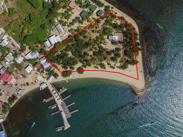 RE/MAX real estate, Belize, Placencia,  L6702 - Beachfront Property Is the Crown Jewel!