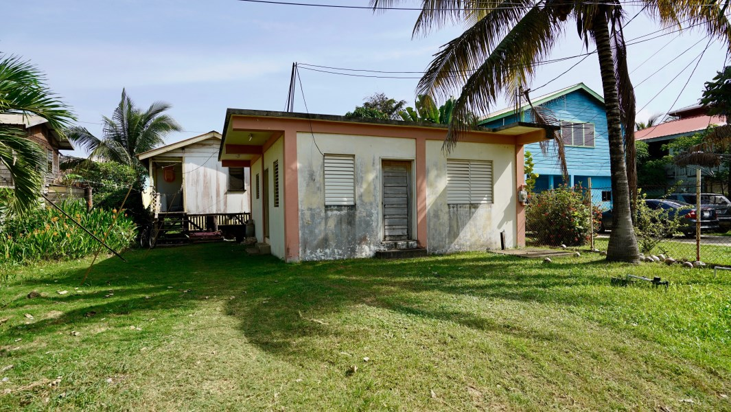 Remax real estate, Belize, Placentia Village, Two Houses in the Heart of the Village Selling Due to Health Reasons