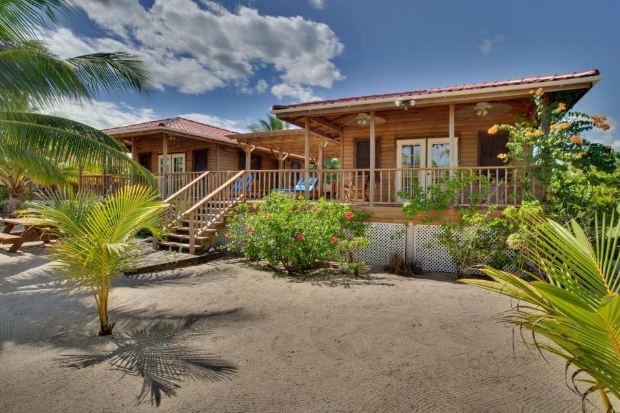 Remax real estate, Belize, Seine Bight Village, Pier House Cabana on the Caribbean Sea