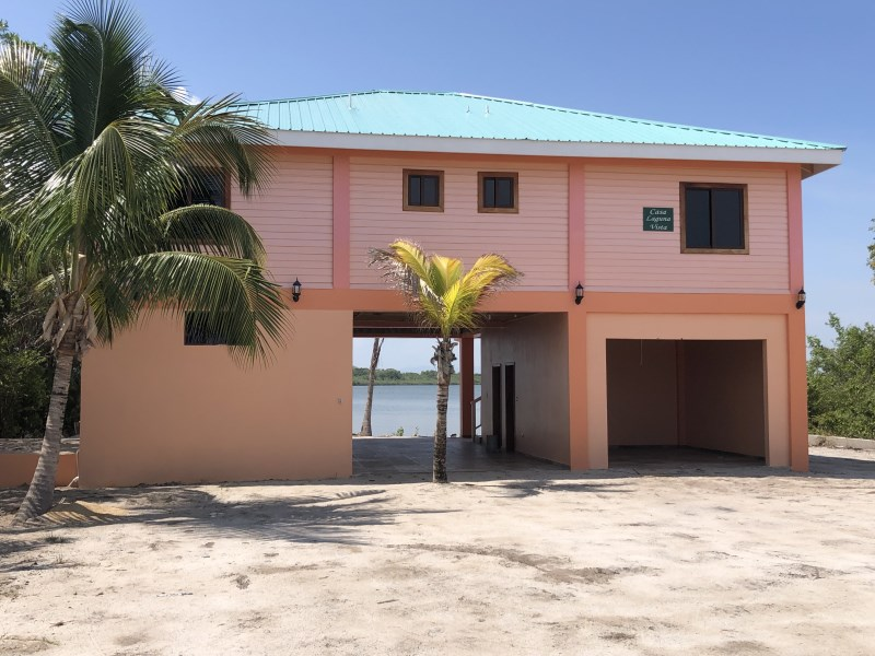 RE/MAX real estate, Belize, Placentia Village,  H6602 - New Construction, Lagoon Front with Lots of Living Space and Character