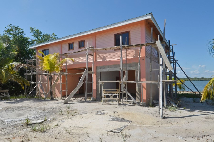 Remax real estate, Belize, Placentia Village,  H6602 - New Construction, Lagoon Front with Lots of Living Space and Character