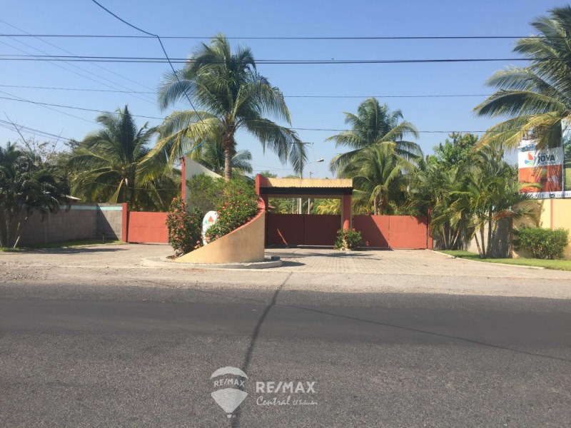 Remax real estate, El Salvador, Santa Rosa, Land on the beach Villas del Pacifico urbanization