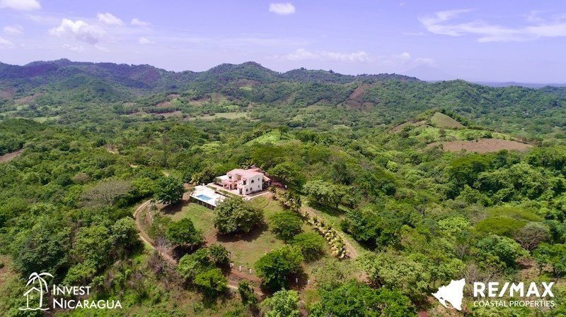 Remax real estate, Nicaragua, San Juan del Sur, Surfer's Dream Retreat on 17 Acres