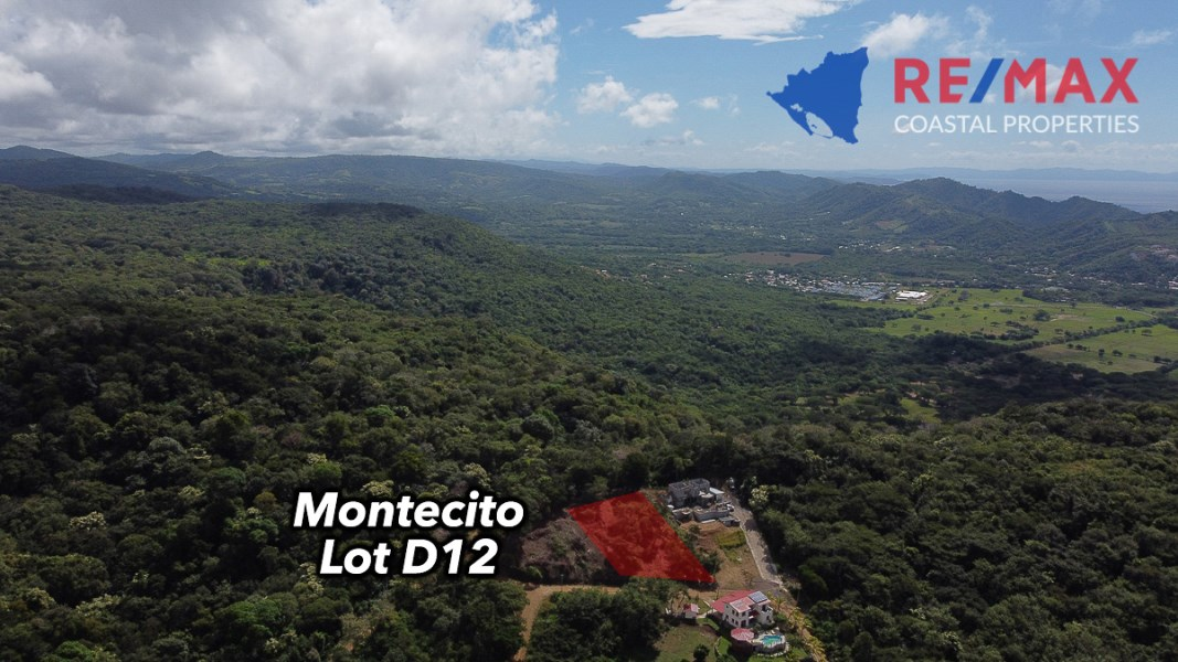 Remax real estate, Nicaragua, San Juan del Sur, El Encanto Montecito Top Ridge Lot