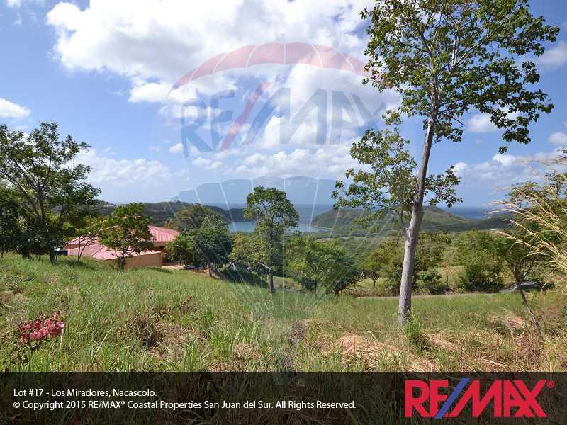 Remax real estate, Nicaragua, San Juan del Sur, Lot 17 Los Miradores