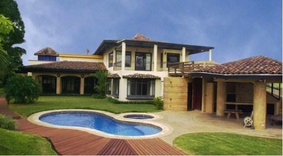 Remax real estate, Costa Rica, Santa Ana - Pozos, House  Valle Del Sol  View Golf Area