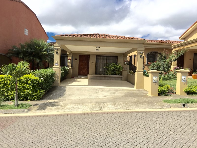 Remax real estate, Costa Rica, Heredia, ONE STORY CUSTOM HOME IN GATED COMMUNITY