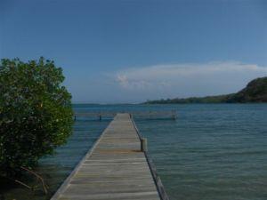 Remax real estate, Honduras, Roatan, WITH DOCK MARIPOSARARE FIND   DEEP WATERFRONT