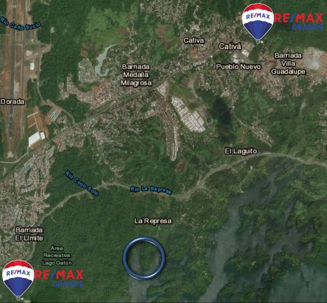 Remax real estate, Panama, Gatun, Investment opportunity in Lake Gatún