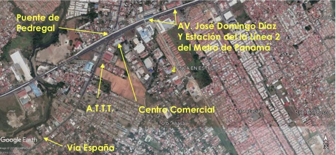 Remax real estate, Panama, Panamá - Las Acacias, FOR SALE / RENT LOT OF 1,499M2 IN LAS ACACIAS.
